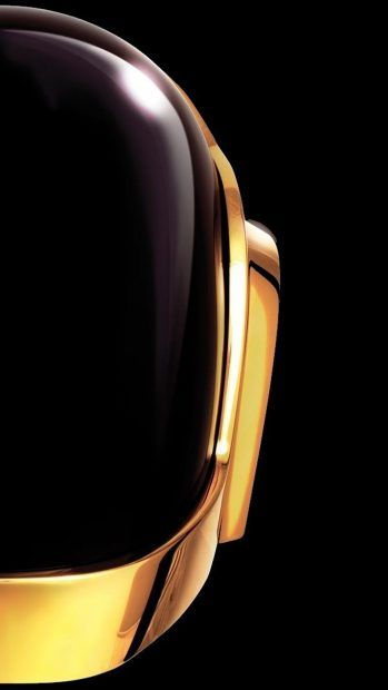 Daft Punk outline iPhone 7 wallpaper 1080x1920.