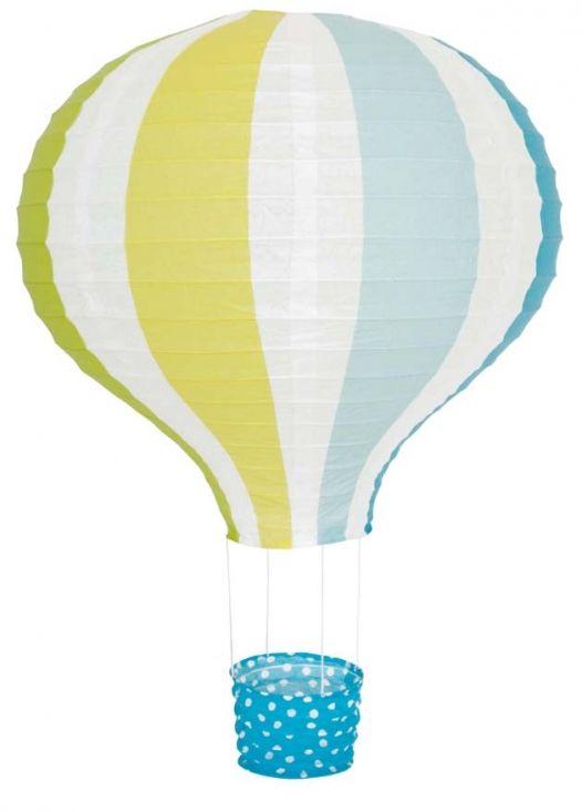 Jabadabado Rislampa Luftballong Blå i gruppen Barnrum / Möbler / Lampor & nattlampor hos Köpbarnvagn.se (X6032)
