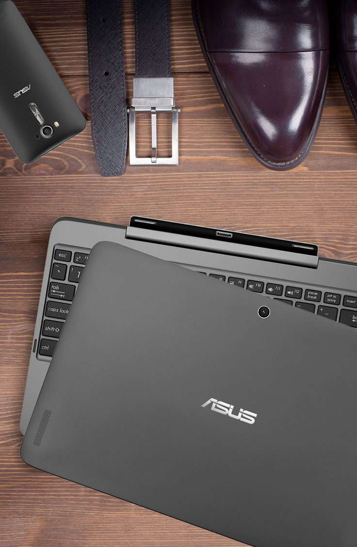 Let the elegant & lightweight 2-in-1 ASUS Transformer Book T100HA organize your life in 2016. It's the complete package! | Laptop or Tablet - why not both | T100HA is the best of both worlds