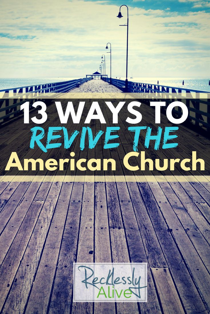 We can look at the declining church attendance statistics and respond with fear, name-calling, and attack or we can see it for what it truly is: an opportunity for revival. | RecklesslyAlive.com