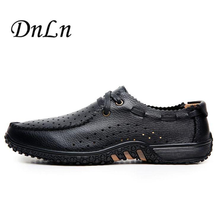 2017 Nouveau Hommes Chaussures Casual, Mesh été pour les Hommes, Super Light Flats Chaussures, Pied d'emballage,marron,38