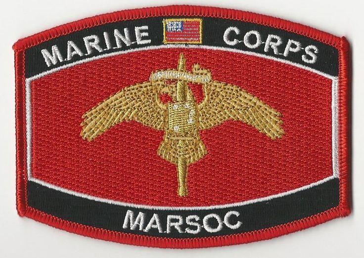 USMC CAP PATCH - MARSOC (MARINE CORPS SPECIAL OPERTATIONS COMMAND)