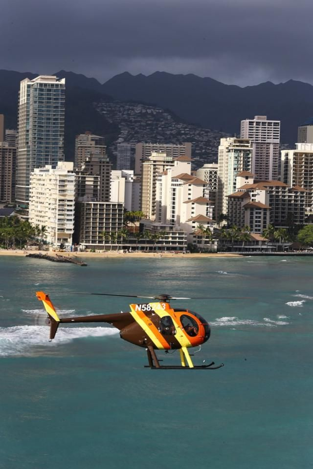 Take a Flight on the MD500 Magnum P.I. Helicopter from the Turtle Bay Resort on Oahu's Fabled North Shore.