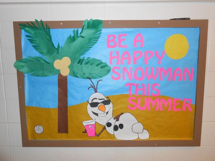 RA Bulletin Board, Frozen with Olaf