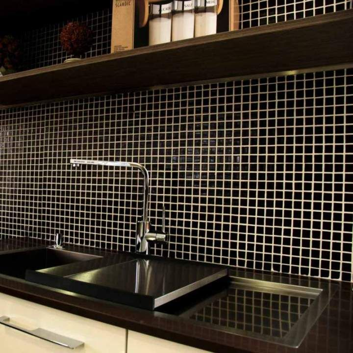Kitchen Tiles Mosaic best 25+ black mosaic tiles ideas on pinterest | penny mobile