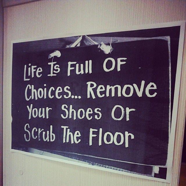 Remove your shoes! By FranzFerdinandHostel Sarajevo