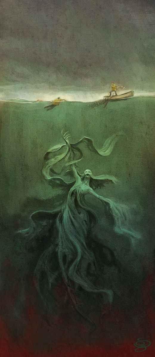 Art by Sebastian Giacobino  Left sleeve inspiration