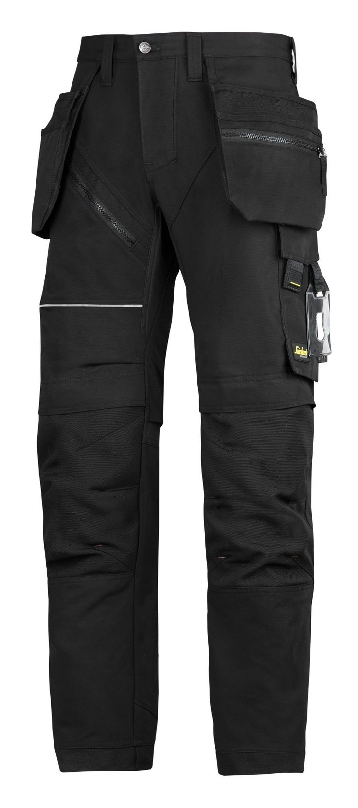 Tough design for rough work. Modern heavy-duty work #trousers combining amazing fit with reinforced functionality. Features Cordura® 1000 reinforced knee protection, built-in ventilation and stretch gusset in crotch for #hardwearing comfort at work.