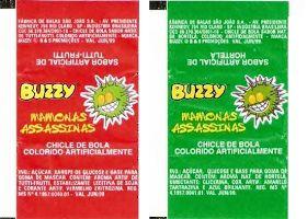 """É da sua Época? Quem se lembra do """"Chicle de Bola Buzzy Mamonas Assassinas"""" na década de 90?No auge do sucesso dos Mamonas Assassinas, a em..."""