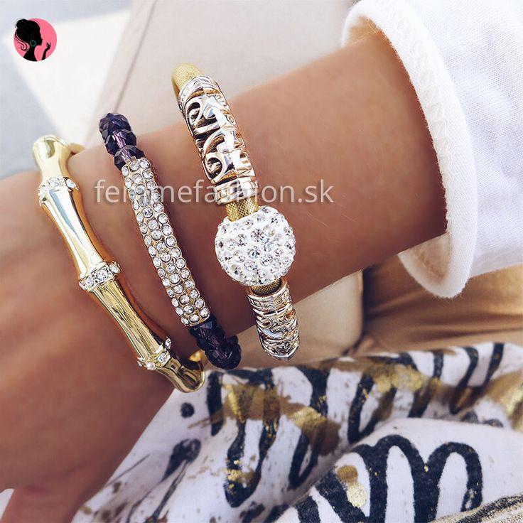 Set náramkov  #bracelet #setofbracelets #jewelry #accessories #bizuteria #bijouterie #dnesnosim #ootd #ootdshare  http://femmefashion.sk/sety/2570-set-naramkov-.html