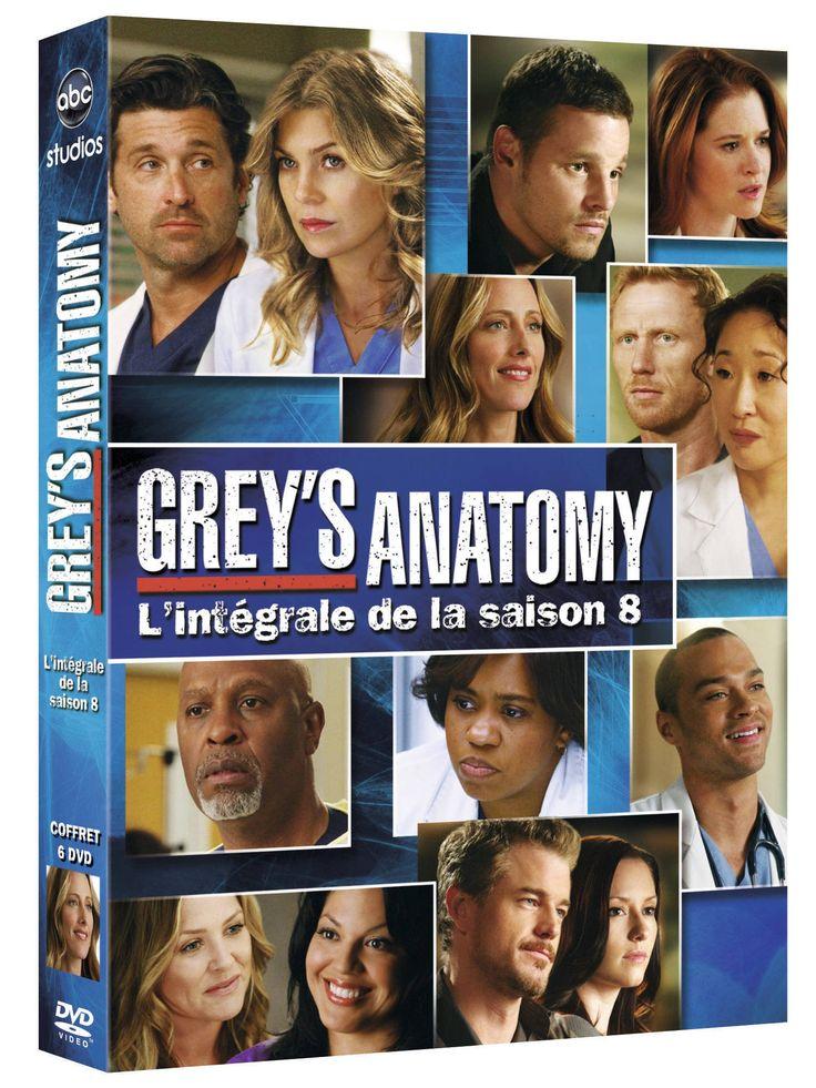 Amazon.fr - Grey's Anatomy (À coeur ouvert) - Saison 8 - 26 euros