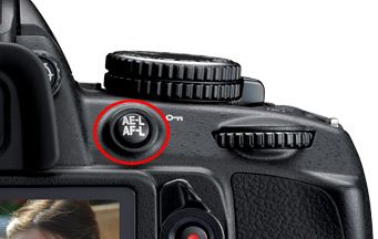 Nikon D3100 AE-L AF-L Button - Great information on this for entry-level and top of the line Nikon DSLR camera function!