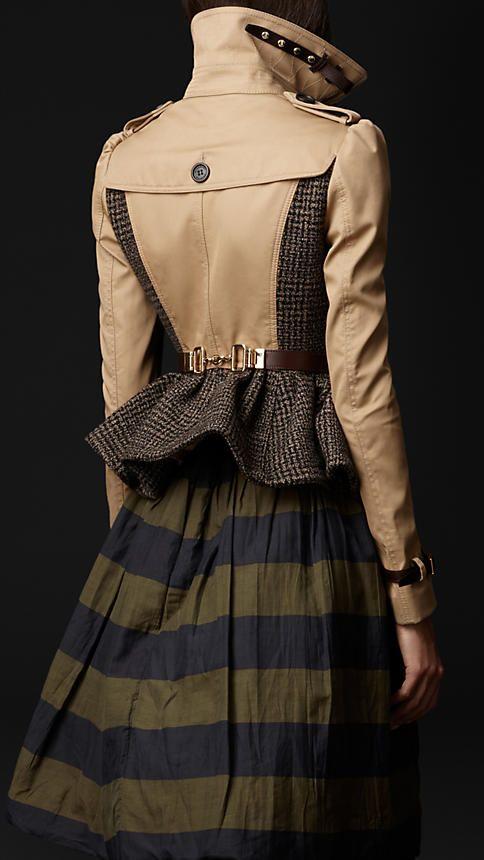 Burberry - Cotton Tweed Heritage Jacket