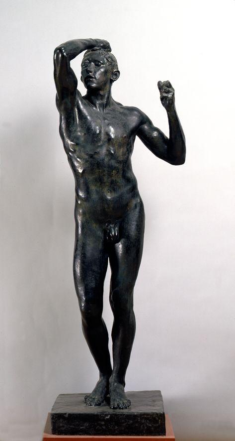 Auguste Rodin, L'età del bronzo, 1875 - 1876