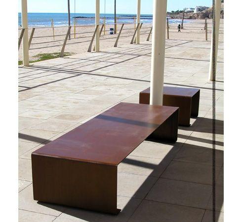 sedute spazi pubblici in corten - Cerca con Google