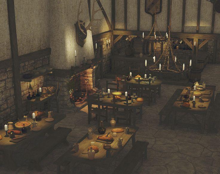 Medieval Tavern Test