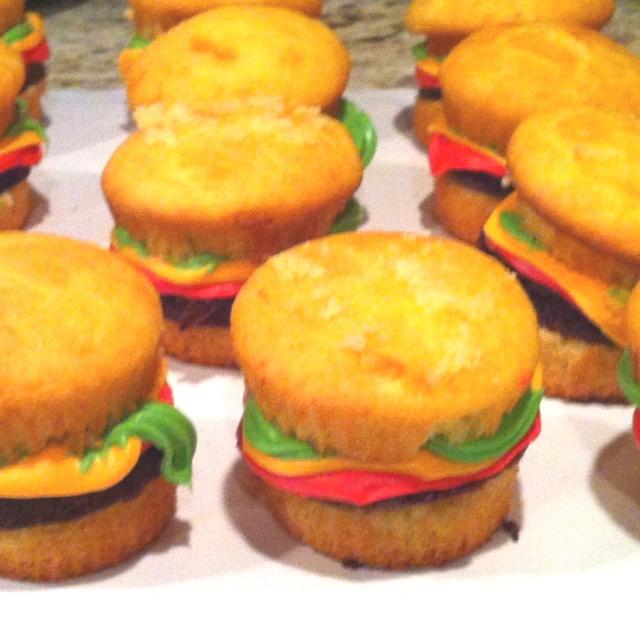 Cupcake hamburgers anyone?