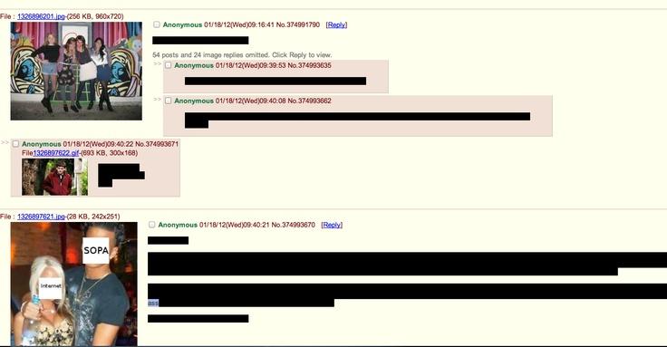 4chan: 4Chan, Sopa