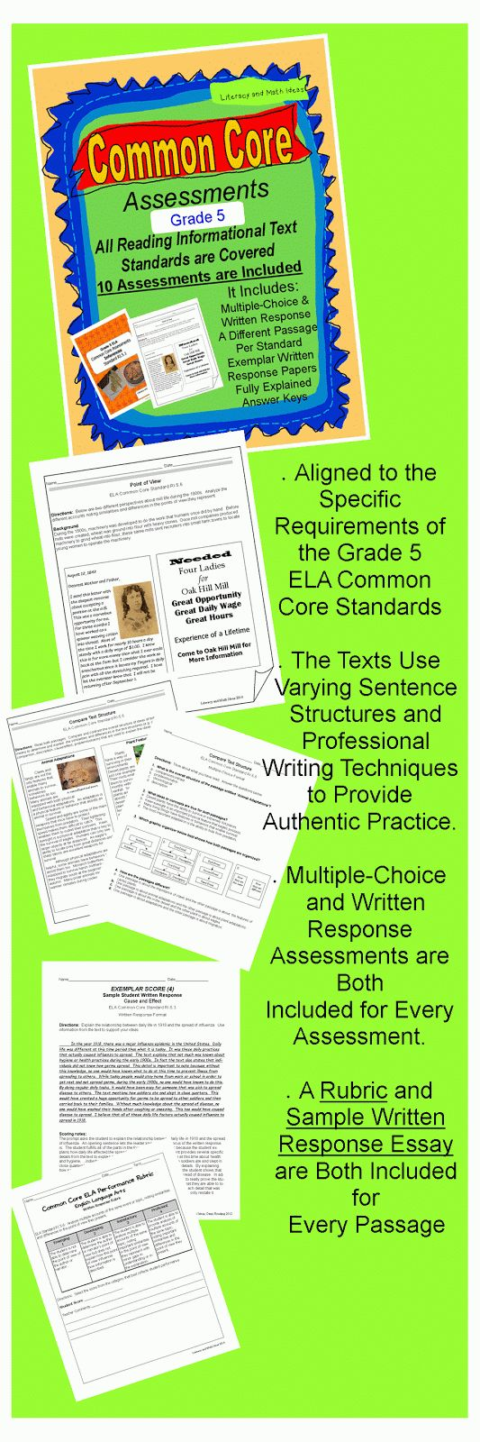 reading assessment essay English language arts (ela) assessment reading, writing, listening and speaking, and research.