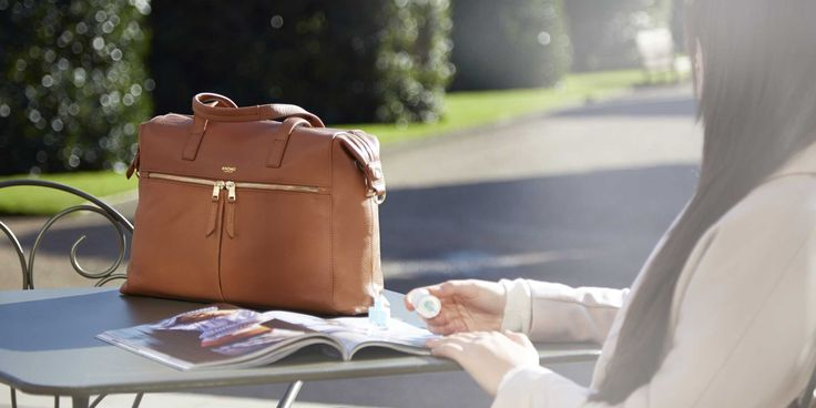 MAYFAIR LUXE COLLECTION from Knomo Bags.