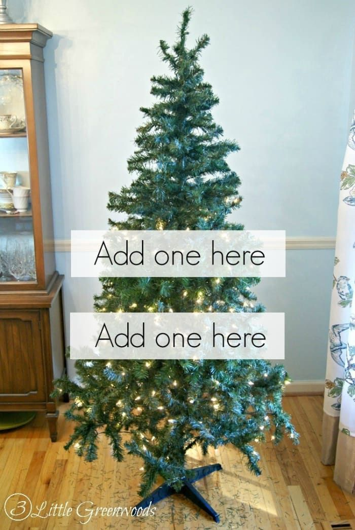 22 Holiday Decor Hacks That Ll Make You Say Why Didn T I Know About These Sooner Cheap Christmas Trees Faux Christmas Trees Holiday Decor Hacks
