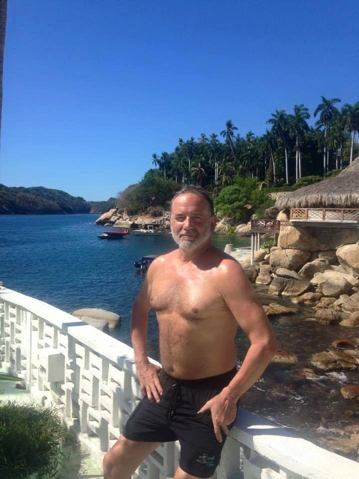 Me at Hotel Boca Chica, Acapulco, Mexico