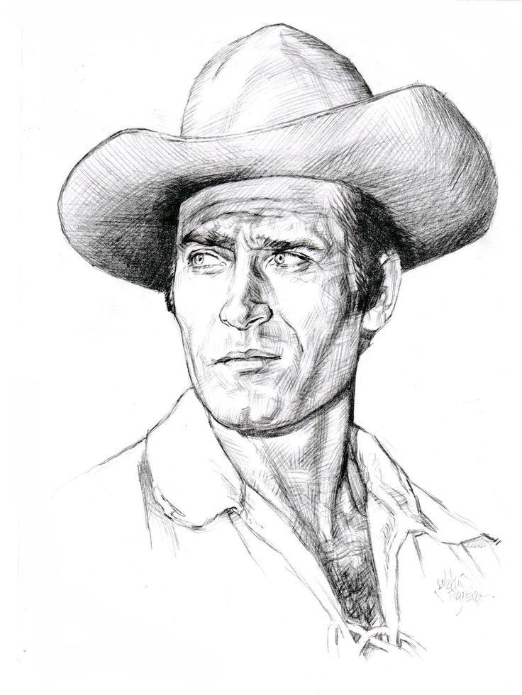 Image of Clint Walker in Cheyenne   Clint Walker as Cheyenne TV western 1955 1963 by ~AbdonJRomero on ...