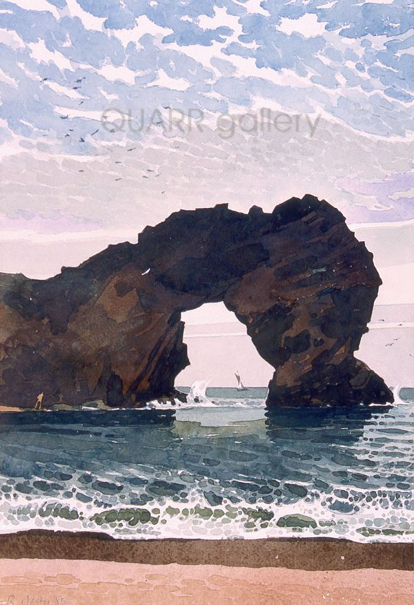 Durdle Door 2 by Ronald Jesty