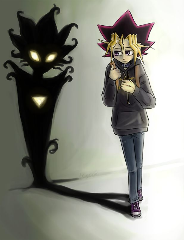 yu-gi-oh: my shadow friend by morimori-mori.deviantart.com on @deviantART