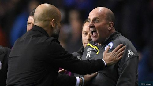 Tempers flared all-round at Wigan v Manchester City, but the FA will not take any action over a Pep Guardiola/Paul Cook half-time clash. 21.02.18