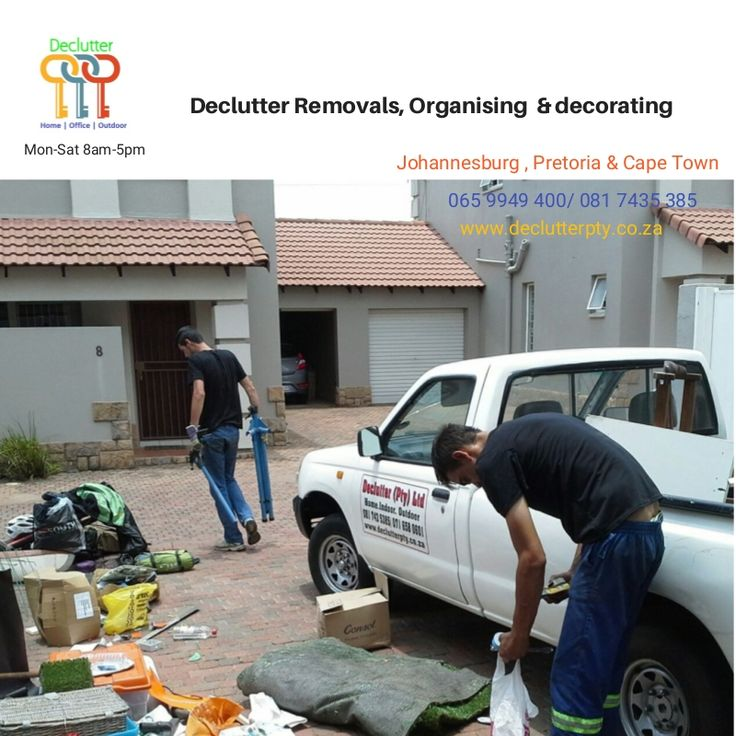 Need your premises organized of clutter/junk? Call Declutter now
