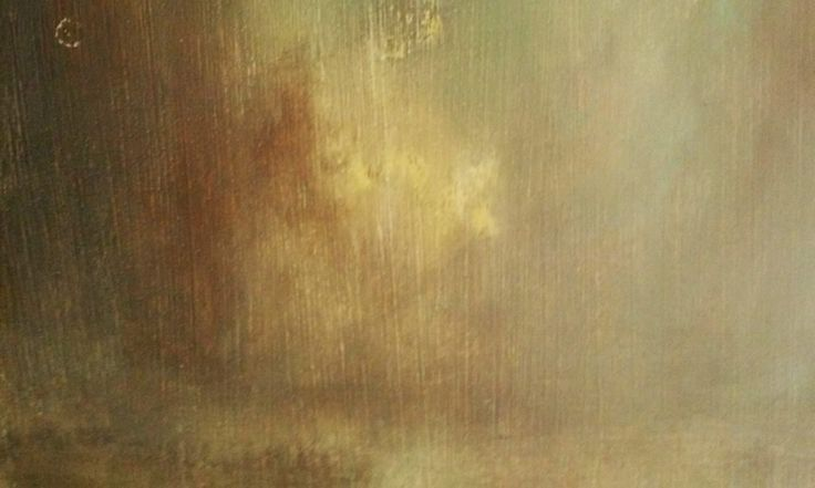 Detail from a work in progress, oil on wood