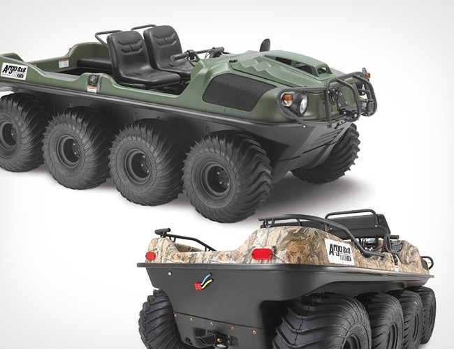 Argo 8×8 750HDi Amphibious Vehicle for you outback enjoyment