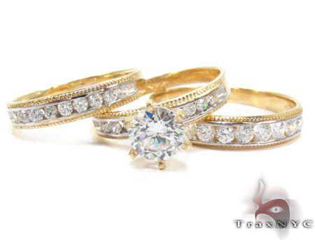 her ring set jamaican weddings pinterest