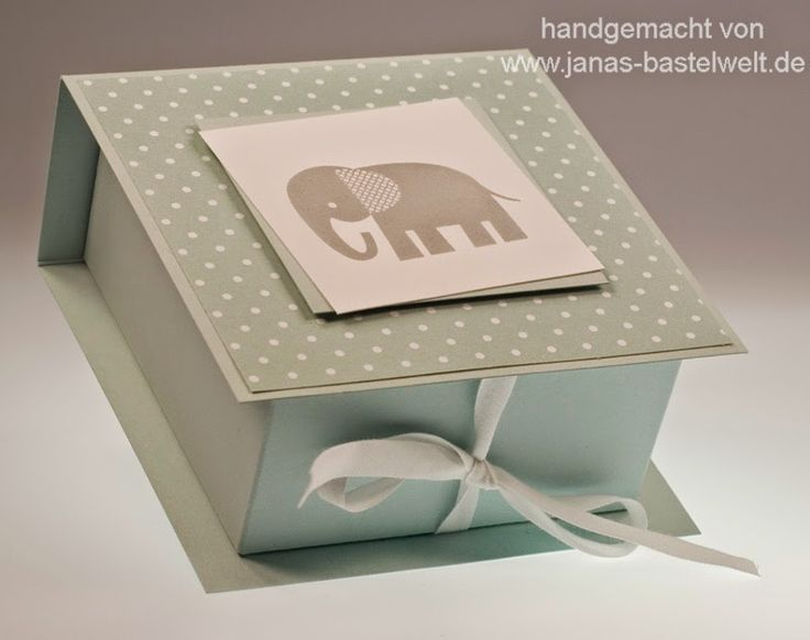 Janas Bastelwelt - Unabhängige Stampin' Up! Demonstratorin: Video-Tutorial: Flip-Top-Box