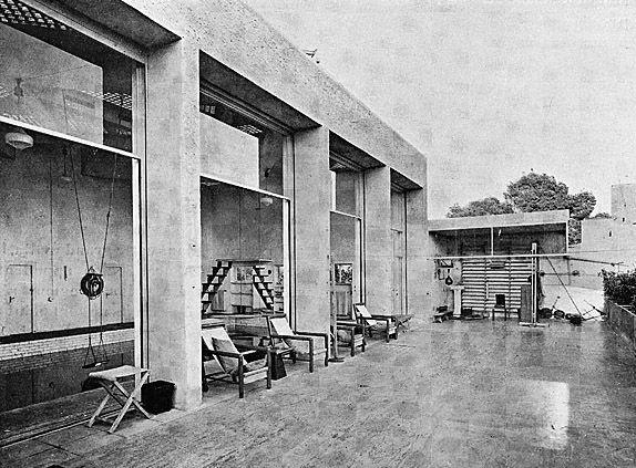 Villa Noailles, Hyères, by Robert Mallet-Stevens 1926-1927, garden by Gabriel Guevrekian.
