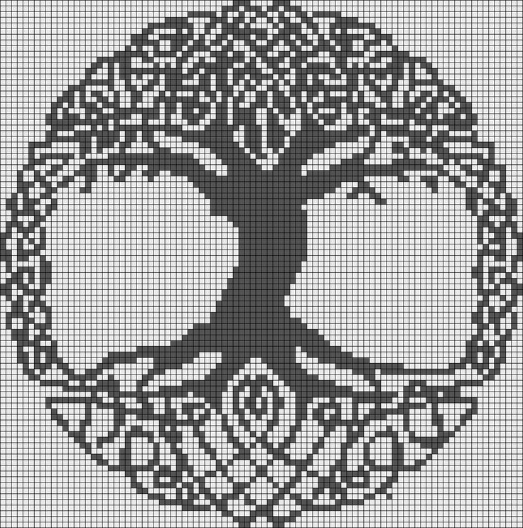 tree of life Alpha Pattern #14614 Preview added by puppydog