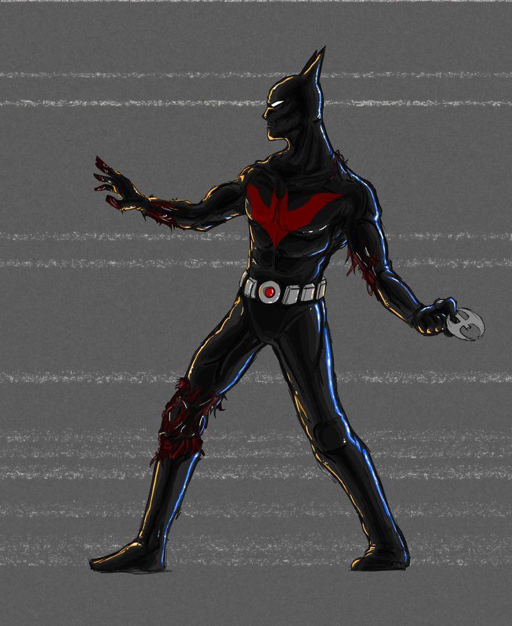 Batman Beyond 01   fanart by Stachir