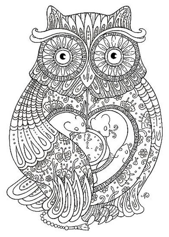 7 best Coloring Pages images on Pinterest Print coloring pages - best of coloring pages adults birds