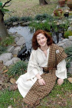 Ancient Celtic woman