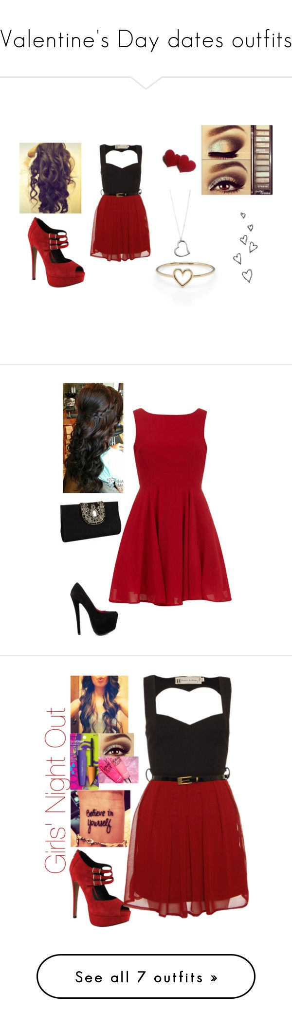 """""""Valentine's Day dates outfits"""" by mathgeek16 ❤ liked on Polyvore featuring ALDO, Aéropostale, Aurélie Bidermann, women's clothing, women, female, woman, misses, juniors and Alice & You"""