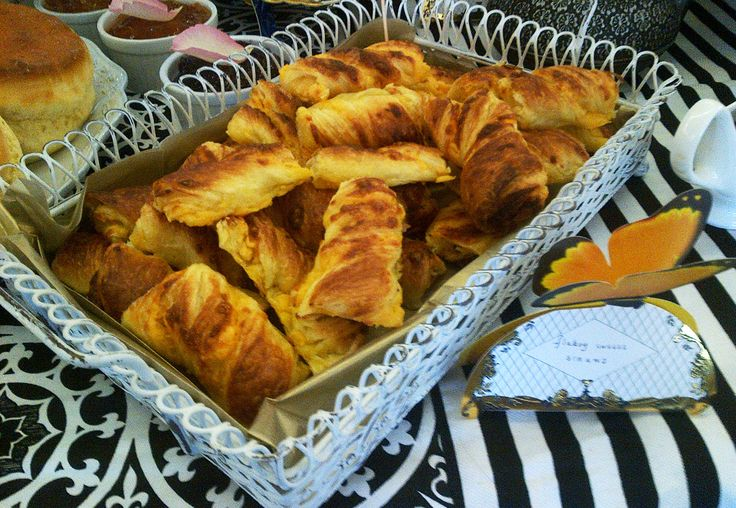 Belles's delicious cheese straws made with French butter?