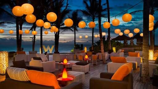 Woobar is amazing place for sunset.Bali ,Indonesia
