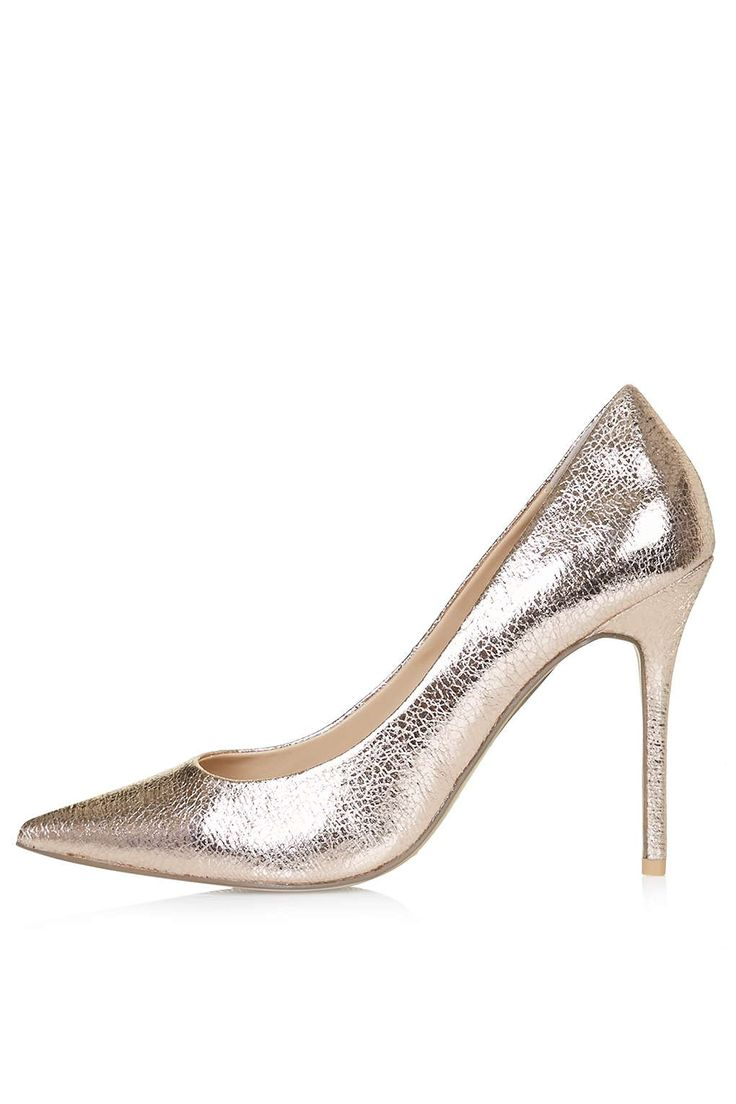 GEMINI2 Metallic Court Shoes - Shoes - Going Out - Clothing- Topshop