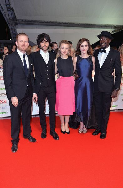 Colin Morgan Photos Photos - (L-R) Tom Goodman-Hill, Colin Morgan, Emily Berrington, Ruth Bradley and Ivanno Jeremiah of 'Humans' attend the 21st National Television Awards at The O2 Arena on January 20, 2016 in London, England. - National Television Awards - Red Carpet Arrivals