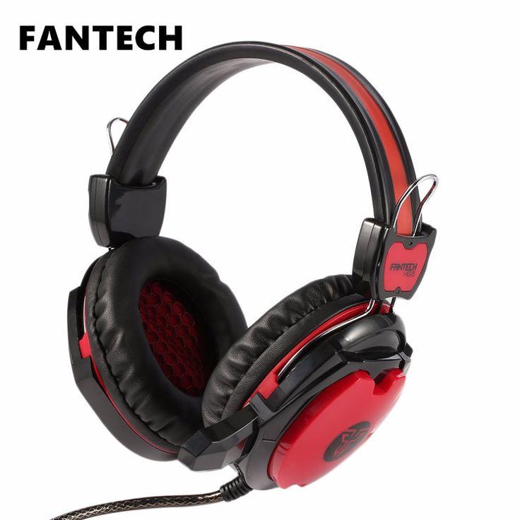 FANTECH Professional Home Office Gaming Gamer Headphone
