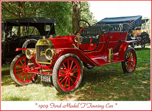 1909 Ford Model T Touring by sjb4photos, via Flickr