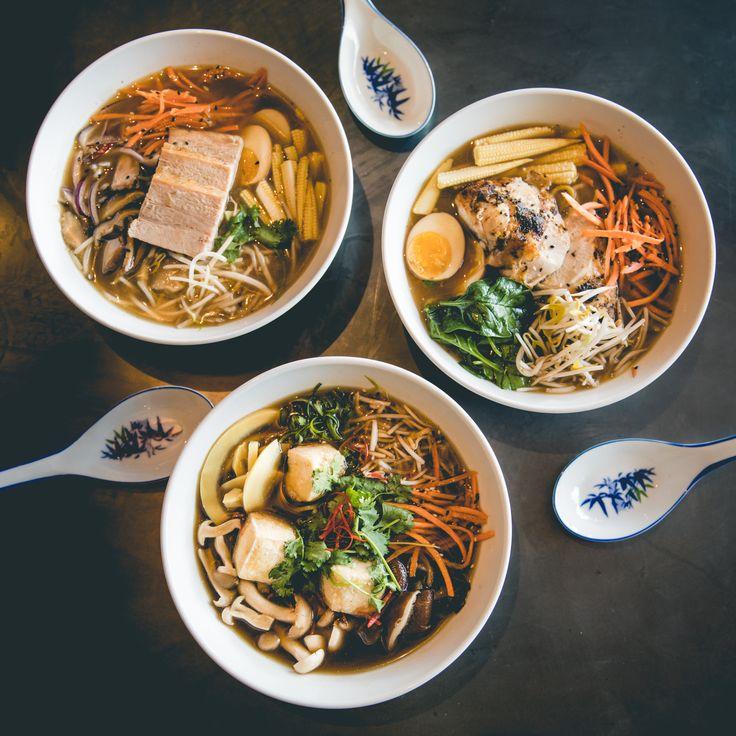 Saigon Suzy Ramen Bowls #Ramen #ChickenRamen #TofuRamen #PorkRamen #SaigonSuzy