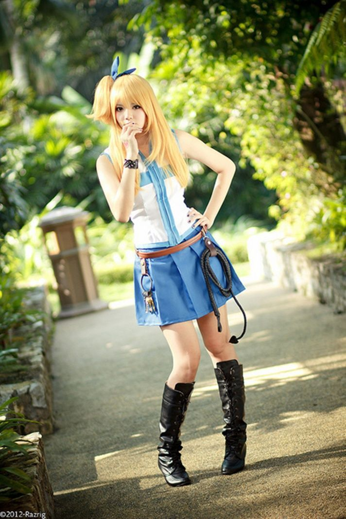 awesome Lucy cosplay @Nicola Pearce Pearce Pearce Pearce Pearce Shout we should start pl...