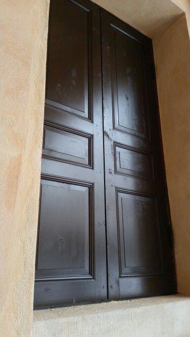 Handmade doors for Skansen, tottieska malmgården